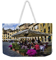 Square Amphitheater In Lucca Italy Weekender Tote Bag