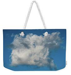 Square Cloud Delray Beach Florida Weekender Tote Bag