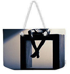 Weekender Tote Bag featuring the photograph Square Foot by David Sutton