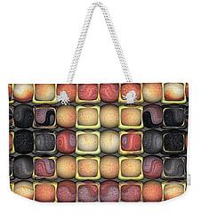Square Holes Round Pegs Weekender Tote Bag