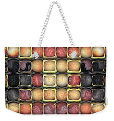 Square Holes Round Pegs Weekender Tote Bag