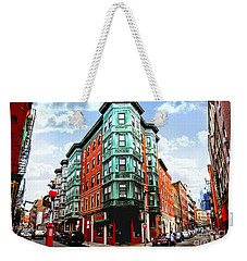 Square In Old Boston Weekender Tote Bag