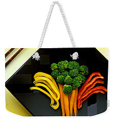 Square Plate Weekender Tote Bag