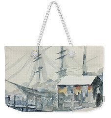 Square Rigger Weekender Tote Bag by Stan Tenney