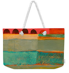 Square Stripes Weekender Tote Bag