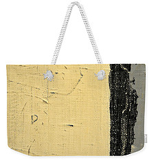 Weekender Tote Bag featuring the painting Square Study Project 11 by Michelle Calkins