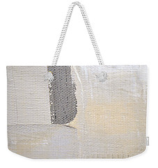 Weekender Tote Bag featuring the painting Square Study Project 3 by Michelle Calkins