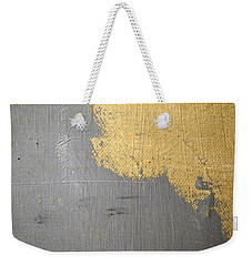 Weekender Tote Bag featuring the painting Square Study Project 6 by Michelle Calkins