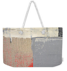 Weekender Tote Bag featuring the painting Square Study Project 8 by Michelle Calkins