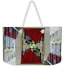 Weekender Tote Bag featuring the photograph Squares by Brian Jones