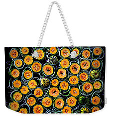 Squash And Zucchini Patters Weekender Tote Bag