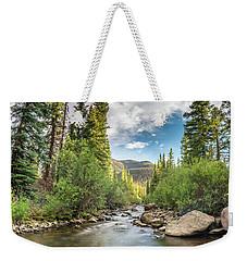 Squaw Creek, Colorado Weekender Tote Bag