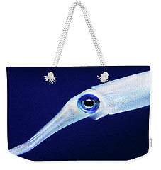 Weekender Tote Bag featuring the photograph Squid by Anthony Jones