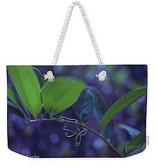 squiggle Vine Weekender Tote Bag by Stefanie Silva