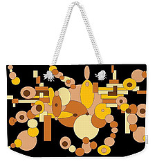 Squiggly Weekender Tote Bag