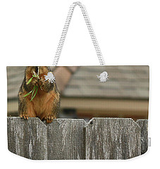 Squirle Weekender Tote Bag by Ronald Olivier
