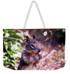 Squirrel At Moonstone Beach, California 003 Weekender Tote Bag