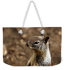 Squirrel At Moonstone Beach, California - 004 Weekender Tote Bag