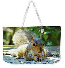 Squirrel Closeup Weekender Tote Bag