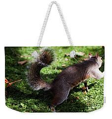 Squirrel Running Weekender Tote Bag