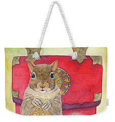 Squirrel Secret Weekender Tote Bag