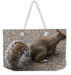 Squirrel Side Weekender Tote Bag