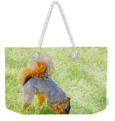 Squirrelly Weekender Tote Bag