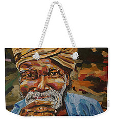 Sri Lanka Village Elder Weekender Tote Bag