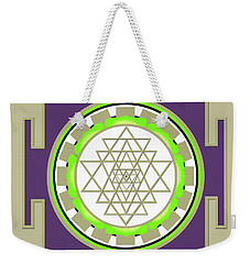 Sri Yantra Of Prosperity Weekender Tote Bag