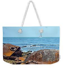 Ss Dominator Wreckage Weekender Tote Bag
