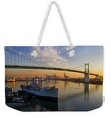 Weekender Tote Bag featuring the photograph Ss Lane Victory by Arthur Dodd