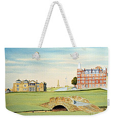 St Andrews Golf Course Scotland - Royal And Ancient Weekender Tote Bag