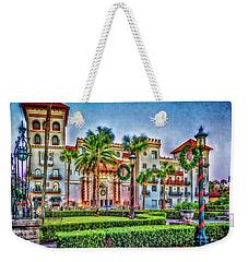 St. Augustine Downtown Christmas Weekender Tote Bag