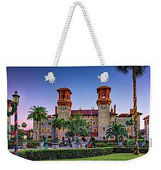 St. Augustine, Fl - Lightner Lights Weekender Tote Bag