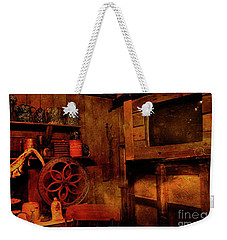 Weekender Tote Bag featuring the photograph St. Augustine History Museum by Bob Pardue