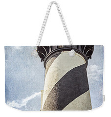 Weekender Tote Bag featuring the photograph St. Augustine Lighthouse by Todd Blanchard