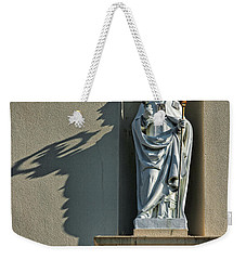 St. Augustine Of Hippo Weekender Tote Bag by Christopher Holmes