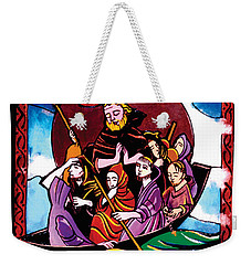 St. Brendan The Navigator - Mmbre Weekender Tote Bag