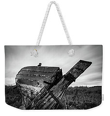 St Cyrus Wreck Weekender Tote Bag by Dave Bowman