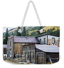 Weekender Tote Bag featuring the photograph St. Elmo A Colorado Ghost Town by Nadja Rider