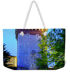 Weekender Tote Bag featuring the photograph St. Florian's Gate by Fabrizio Troiani
