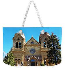 St. Francis Cathedral Santa Fe Nm Weekender Tote Bag