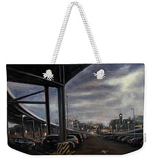 St. George From The Staten Island Ferry Terminal Weekender Tote Bag