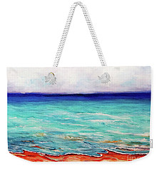 Weekender Tote Bag featuring the painting St. George Island Breeze by Ecinja Art Works
