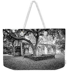St. Helena Tabby Church Weekender Tote Bag by Scott Hansen