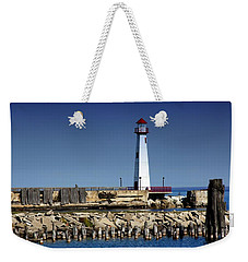 St. Ignace Lighthouse Weekender Tote Bag