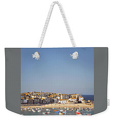 Weekender Tote Bag featuring the photograph St Ives Harbour by Lyn Randle