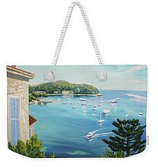 St Jean Cap Ferrat 2 Weekender Tote Bag