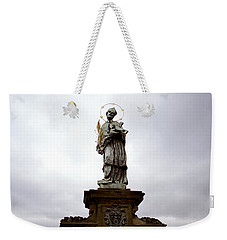 Saint John Of Nepomuk Weekender Tote Bag by Shaun Higson