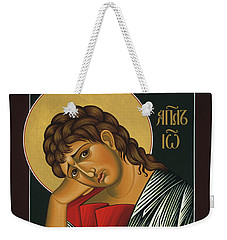 Weekender Tote Bag featuring the painting St. John The Apostle 037 by William Hart McNichols